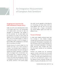 An Integrative Measurement of European Anti-Semitism