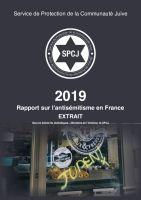 Rapport sur l'antisémitisme en France 2019 EXTRAIT