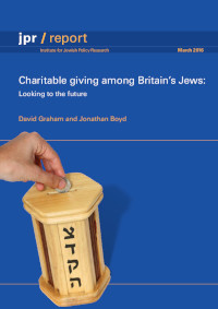 Charitable giving among Britain's Jews: Looking to the future
