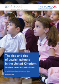 The rise and rise of Jewish schools in the United Kingdom: Numbers, trends and policy issues