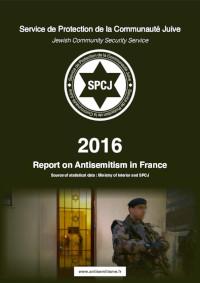 Rapport sur l'antisémitisme en France en 2016