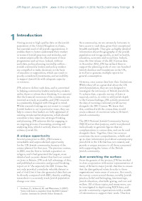 Jews in the United Kingdom in 2013: Preliminary findings from the National Jewish Community Survey