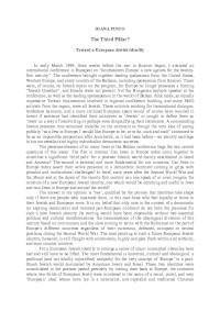 The Third Pillar? Toward a European Jewish Identity